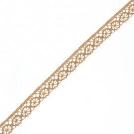 Ruban Dentelle Amélie 15 mm - Latte x 1m