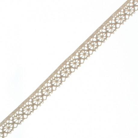 15 mm Lace Ribbon - Beige Amélie x 1m