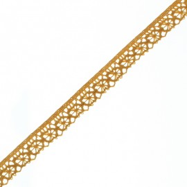 15 mm Lace Ribbon - Honey Amélie x 1m