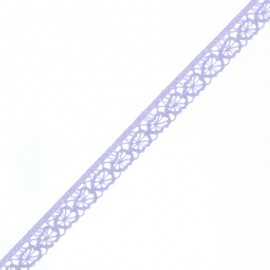 15 mm Lace Ribbon - Lavender Amelie x 1m