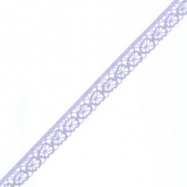 Ruban Dentelle Amélie 15 mm - Lavande x 1m