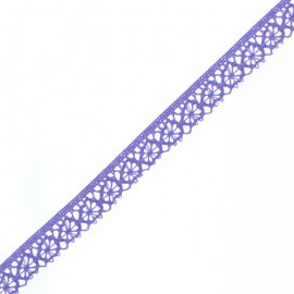 15 mm Lace Ribbon - Purple Amelie x 1m