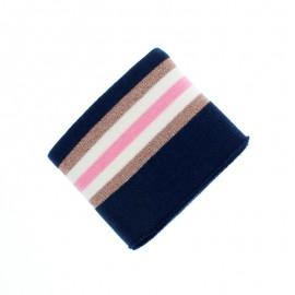 Organic Edging Fabric (140x8cm) - Blue Glam