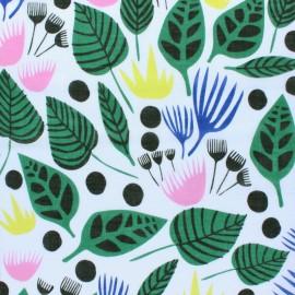 Tissu voile de coton Cloud 9 - Canopy - blanc x 10 cm