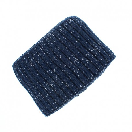 Organic Edging Fabric (140x8cm) - Navy Blue Cosy Glow