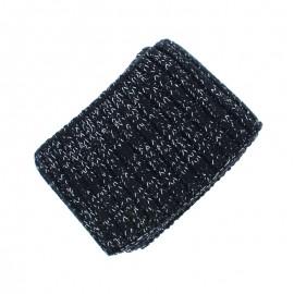 Organic Edging Fabric (140x8cm) - Black Cosy Glow