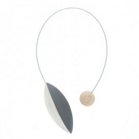 Magnetic Curtain Tieback - Grey Pilat