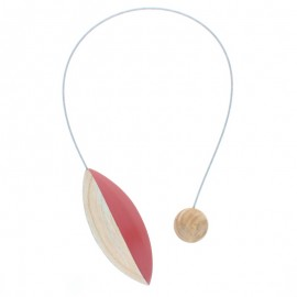 Magnetic Curtain Tieback - Red Pilat