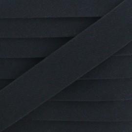 25 mm Special Outdoor Bias Binding - Black Magellan x 1m
