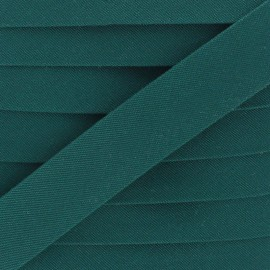 25 mm Outdoor Bias Binding - Forest Green x 1m