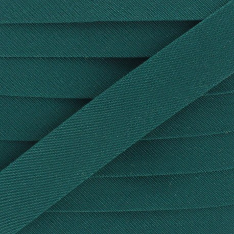 25 mm Outdoor Bias Binding - Forest Green x 1m