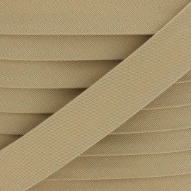 25 mm Outdoor Bias Binding - Beige Magellan x 1m