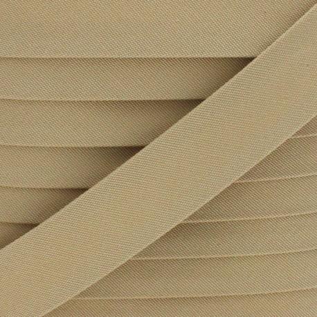 25 mm Outdoor Bias Binding - Beige Magellan x 1m
