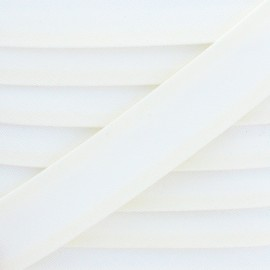 25 mm Outdoor Bias Binding - Off White Magellan x 1m