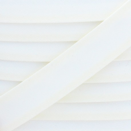 25 mm Outdoor Bias Binding - Off White Magellan x 1m