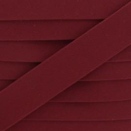 25 mm Outdoor Bias Binding - Burgundy Magellan x 1m