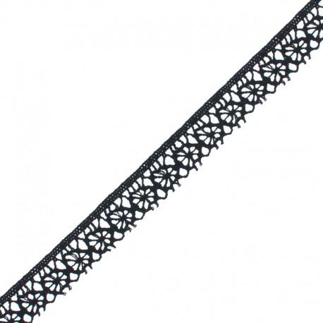 Lace 15 mm - black