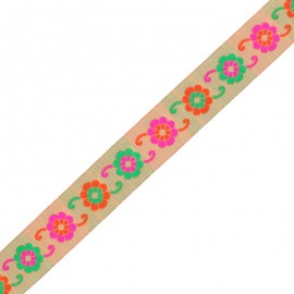 30 mm Embroidered Indian Trim - C Manasa x 1m