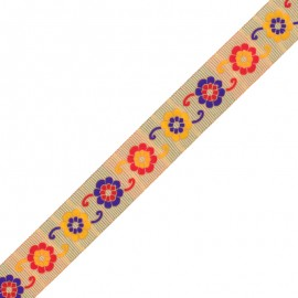 30 mm Embroidered Indian Trim - D Manasa x 1m