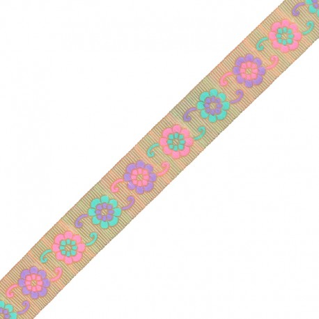 30 mm Embroidered Indian Trim - G Manasa x 1m