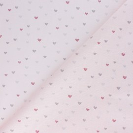 Cotton fabric - light pink Corazon x 10cm