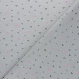 Tissu coton Corazon - rose x 10cm