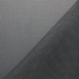 Tissu Toile ajourée Oxa Spécial extérieur - gris foncé x 10 cm