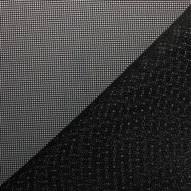 Tissu Toile ajourée Oxa Spécial extérieur - noir x 10 cm