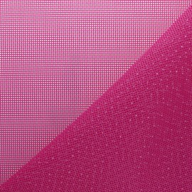 Perforated outdoor canvas fabric - fuschia pink Oxa x 10cm