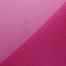 Tissu Toile ajourée Oxa Spécial extérieur - rose fuschia x 10 cm