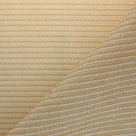 Tissu Toile d'ombrage Sunpro® Anti-UV - Sable x 10 cm