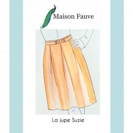 Patron Jupe Maison Fauve - Suzie