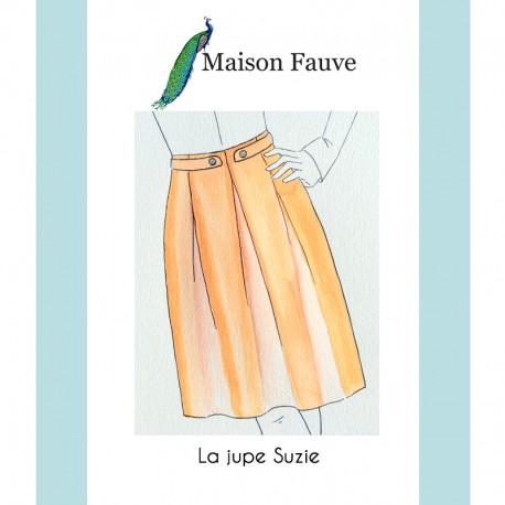 Skirt Sewing Pattern Maison Fauve - Suzie