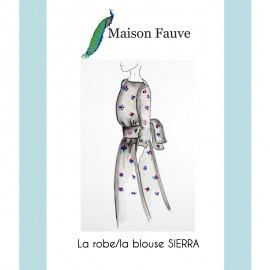 Patron Robe Maison Fauve - Sierra