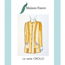 Jacket Sewing Pattern Maison Fauve - Criollo