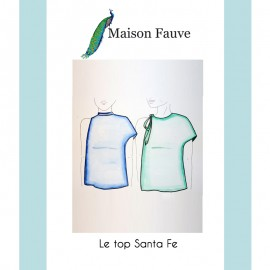 Top Sewing Pattern Maison Fauve - Santa Fe
