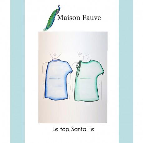 Top Sewing Pattern Maison Fauve - Santa Fe