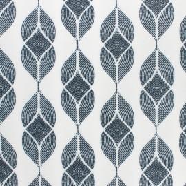 Special outdoor waterproof fabric - black Nairobi x 10 cm