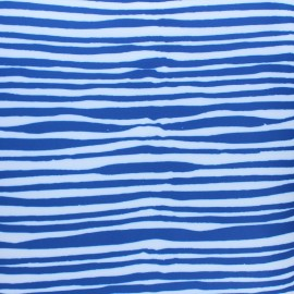 Special outdoor waterproof fabric - blue Seaside x 10 cm