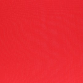 Muslin Fabric - red Clarisse x 50cm