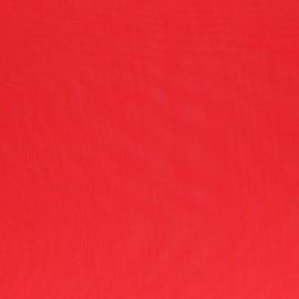 Tissu mousseline Clarisse - rouge x 50cm
