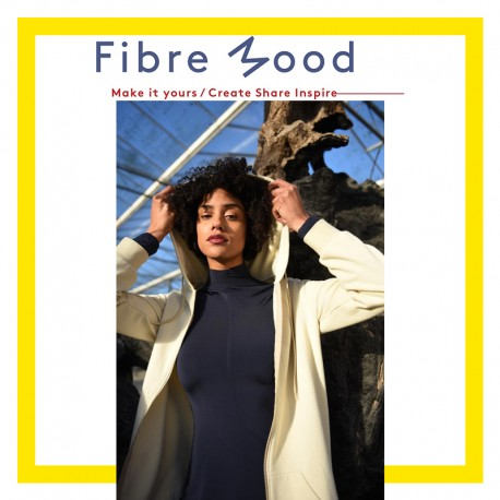 Hoodie Sewing Pattern - Fibre Mood Hazel