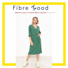 Dress Sewing Pattern - Fibre Mood Violet