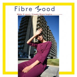 Dress Sewing Pattern - Fibre Mood Willa