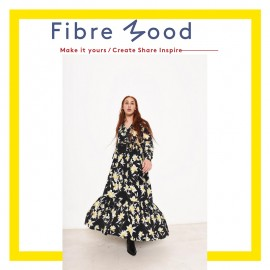Dress Sewing Pattern - Fibre Mood Pola