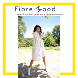 Shirt Dress Sewing Pattern - Fibre Mood Filippa