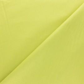 ♥ Coupon 180 cm X 280 cm ♥ Tissu coton uni Reverie grande largeur (280 cm) - anis
