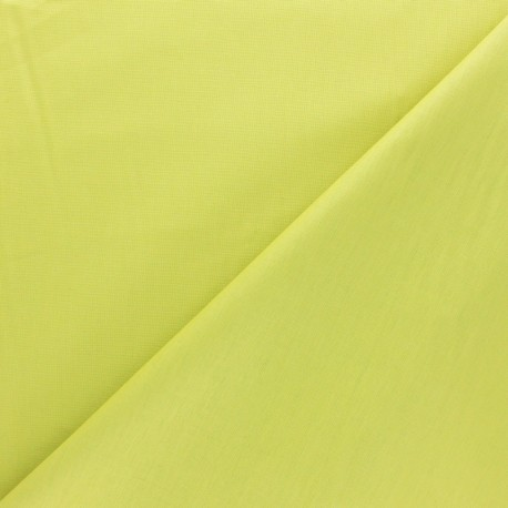 Tissu coton uni Reverie grande largeur (280 cm) anis x 10cm
