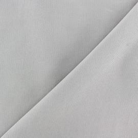 Tissu velours milleraies 200gr/ml - taupe clair x10cm
