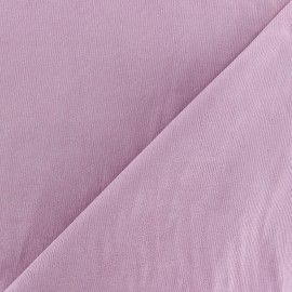 Tissu velours milleraies 200gr/ml - vieux rose x10cm
